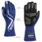 Mobile Preview: Sparco Land Gloves, Schwarz (FIA)