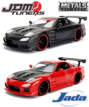 1:24 JDM Tuners 1993 Mazda RX-7 Rot