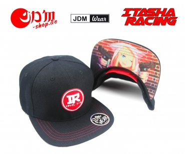 ITASHA RACING JDM Anime Girl Guns V2 Cap Schwarz