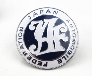 JAF Oldschool Badge Blau
