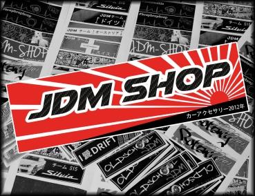 Japan Style Aufkleber Jdm Shop Rs Carbon