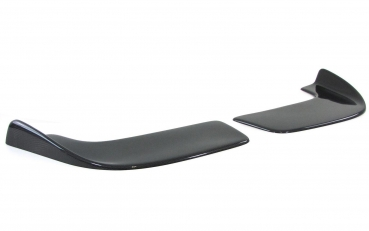 Universal Carbon Front Splitter Winglets Flaps Flat Version