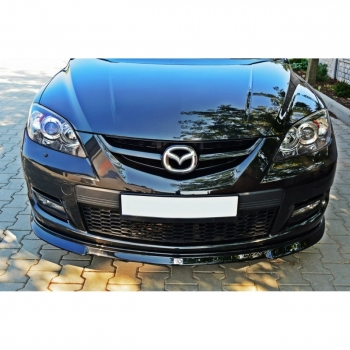 mazda 3 mk1 bk mps front lippe ansatz splitter. Black Bedroom Furniture Sets. Home Design Ideas