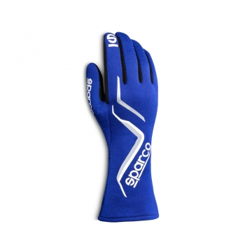 Sparco Land Gloves, Blau (FIA)