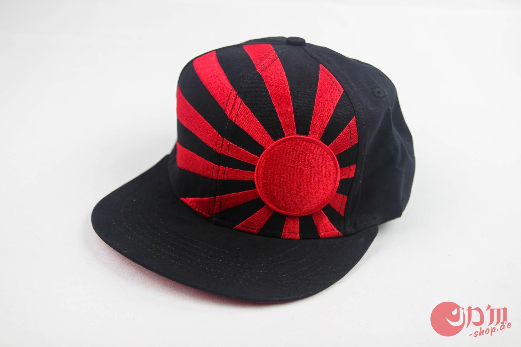 29e824109 Rising Sun Snapback Cap Black