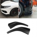 Universal Front Side Splitter ABS Plastik 2er SET